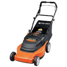 from a corded model to the Black and Decker rechargeable mower