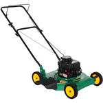gas lawn mower how to change filter yahoo