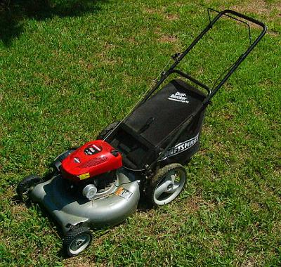 Sears Craftsman 550 Series Push Lawnmower